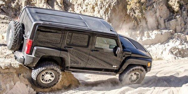 Za volantem Hummeru H3 – adrenalinová jízda