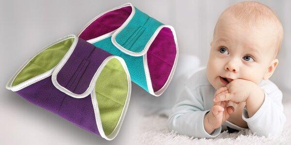 Dečka pro plazící se miminka a jejich bříško v teple