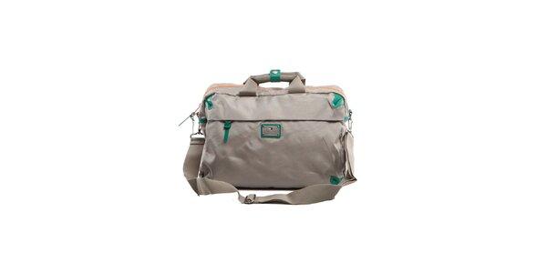 Šedá příruční taška Tommy Hilfiger