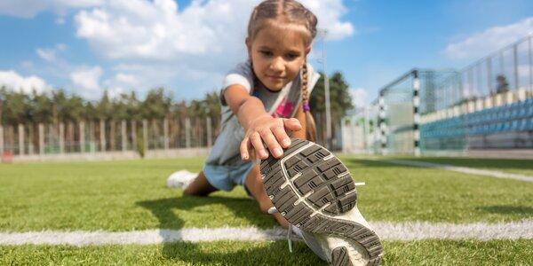 Individuální atletický trénink pro dítě
