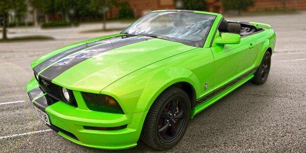 Zapůjčení kabrioletu Ford Mustang na 1 den