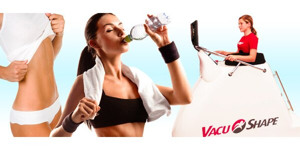 Cvičení v podtlakové kabině VacuBike - permanentka - 10 vstupů