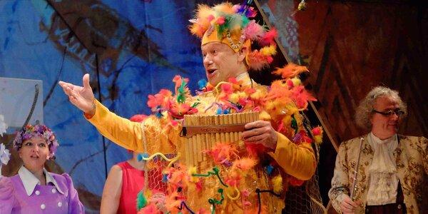 Vstupenka na komedii - Sežeňte Mozarta!