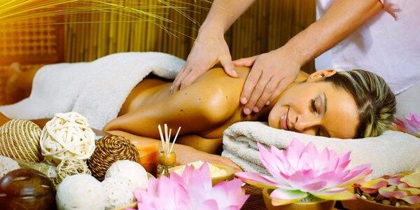 90minutová relaxační celotělová masáž