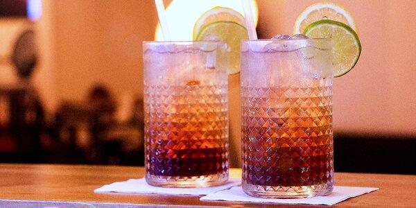 2x Long Island Ice Tea ve stylovém baru