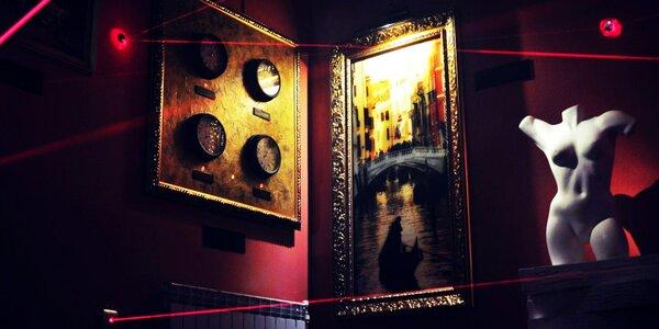 Napínavá únikovka Krádež v muzeu od Lostrooms
