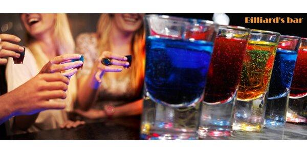 50% sleva na tvrdý alkohol v Billiard's baru