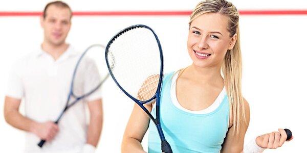 60minutový pronájem kurtu na squash