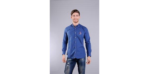 Pánská indigově modrá košile Giorgio di Mare