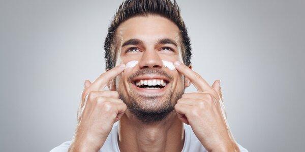 Kosmetické ošetření vč. masáže pro muže