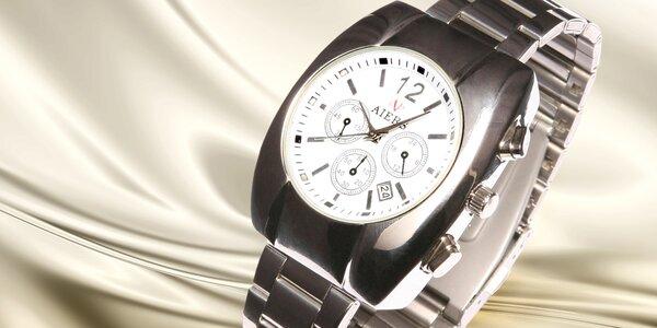 Stylové ocelové hodinky AIERS