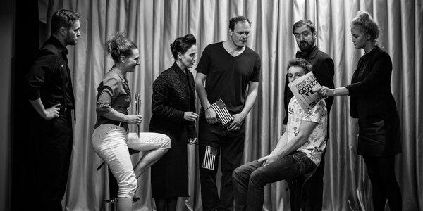 Divadelní představení Busted Jesus Comix
