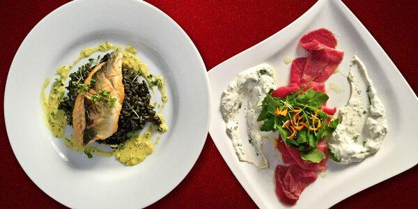 Vytříbené degustační menu v La Provence El Cid