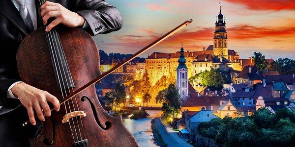 Vstupy na českokrumlovské koncerty při svíčkách