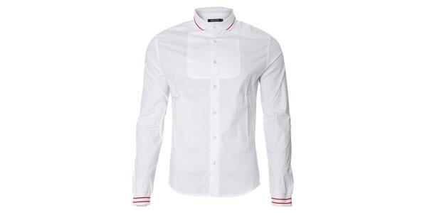 Pánská bílá sportovní košile Free Wave