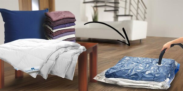 Sada vakuových pytlů pro uskladnění oděvů