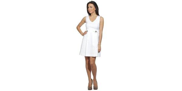 Dámské bílé šaty s kapsičkami Red Valentino