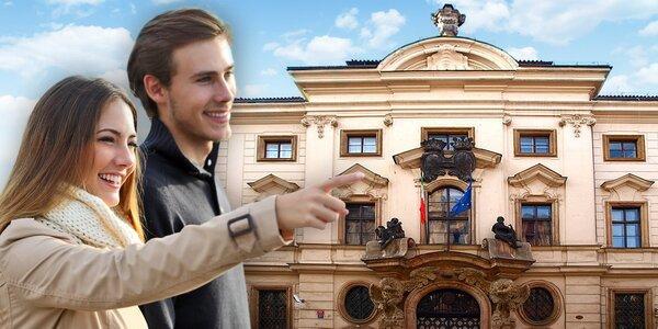 Santiniho tajemství: 2hodinová prohlídka Prahy