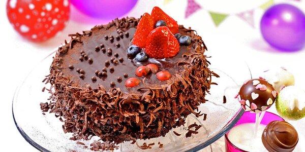 Dětský čokoládový dort nejen k narozeninám