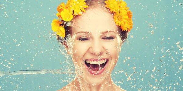 Hloubkové vyčištění pleti vč. masáže obličeje