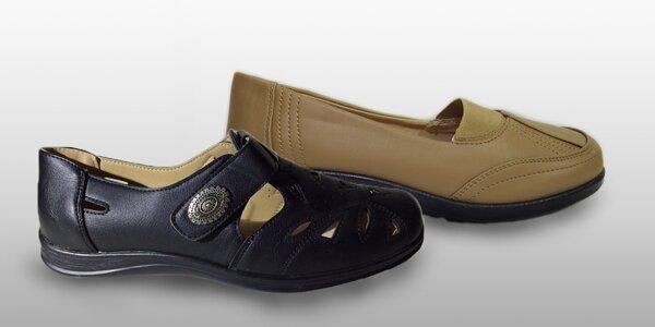 Dámské botky na teplý podzim