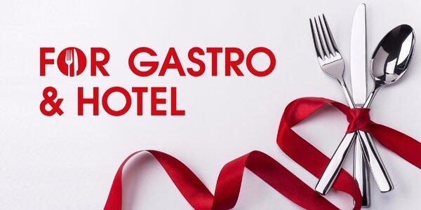 Veletrh FOR GASTRO & HOTEL v Letňanech