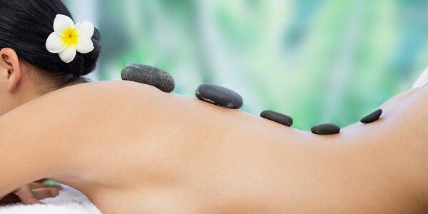 Uvolnění po havajsku: masáž lávovými kameny