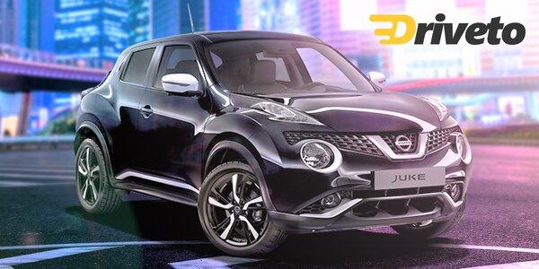 Vůz Nissan Juke s nadstandardní výbavou