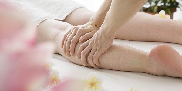 Konec ďolíčků s ruční lymfatickou masáží