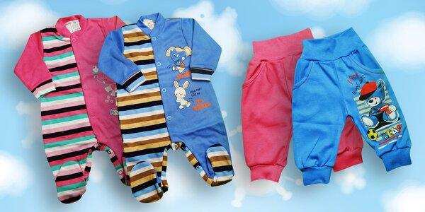 Bavlněné oblečky pro vaše mrňousky