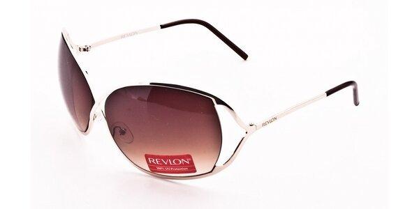 Dámské stříbrné sluneční brýle Revlon