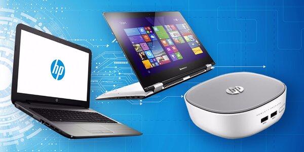 Našlapané značkové notebooky HP a Lenovo