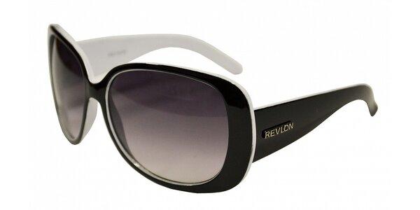Dámské černo-bílé sluneční brýle Revlon