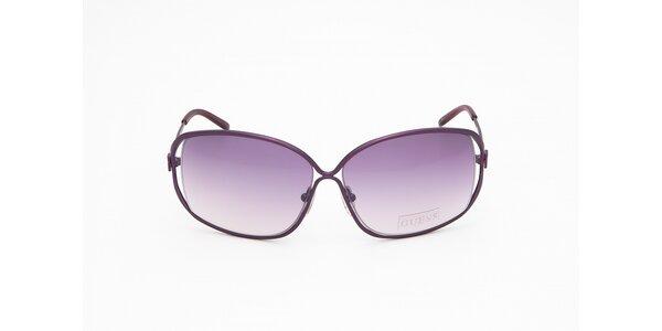Dámské fialové sluneční brýle Guess