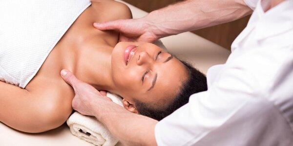 45minutová klasická masáž zad a šíje