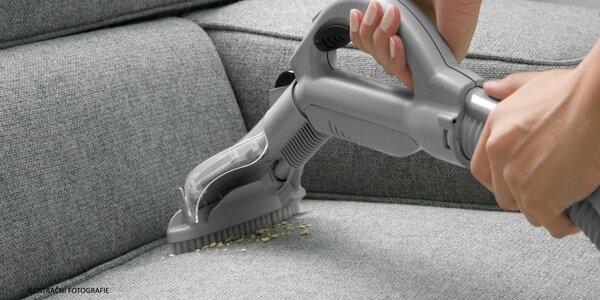 Vyčištění čalouněné sedací soupravy