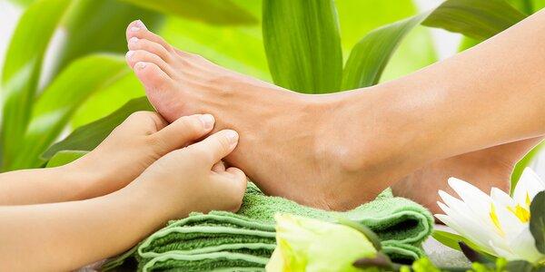 Reflexní terapie & thajská masáž chodidel