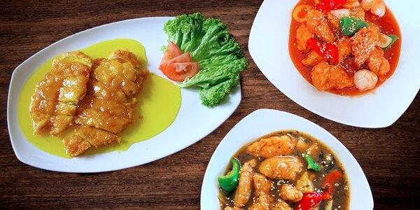 Hongkongské kuřecí speciality pro dva