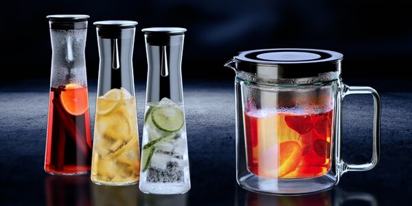 Nádoby z varného skla pro stálou teplotu nápojů