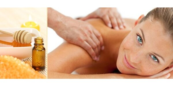 119 Kč za uvolňující medovou nebo relaxační masáž těla!