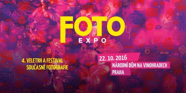 Vstupenka na veletrh FOTOEXPO + fotokniha