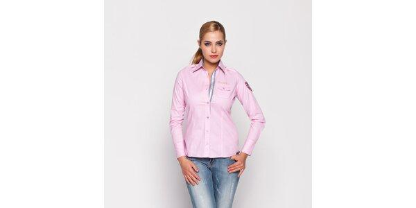 Dámská světle růžová košile Giorgio di Mare