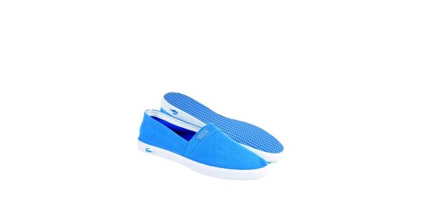 Pánské světle modré kecky Lacoste
