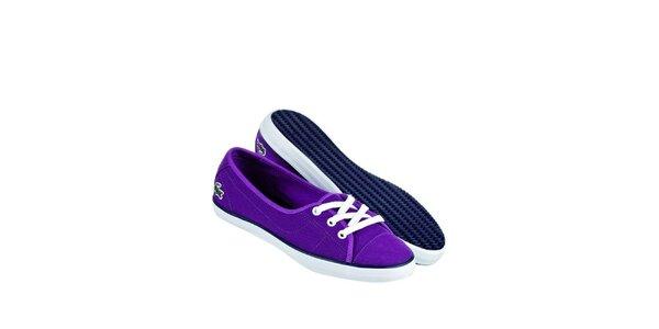 Dámské fialové kecky Lacoste