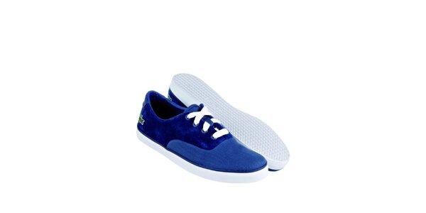 Dámské indigově modré tenisky Lacoste