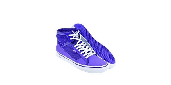 Dámské fialkové kotníkové tenisky Lacoste