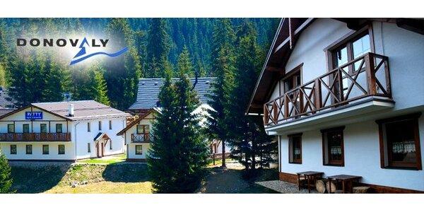 4299 Kč za 6denní pobyt pro 4 osoby v Donovalech na Slovensku!