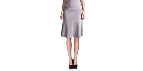 Dámská světle šedá krátká sukně Yuliya Babich
