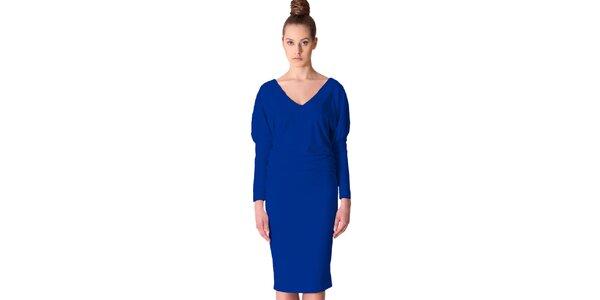 Dámské kobaltově modré šaty Yuliya Babich