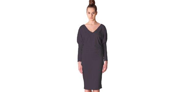 Dámské tmavě šedé šaty Yuliya Babich